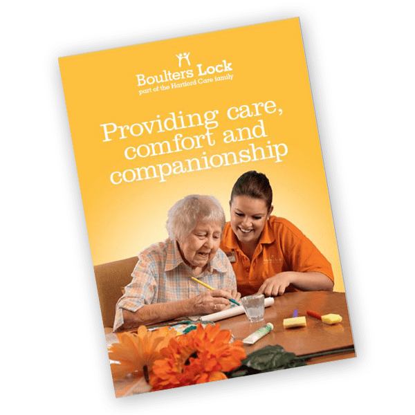 Boulters Lock care home brochure
