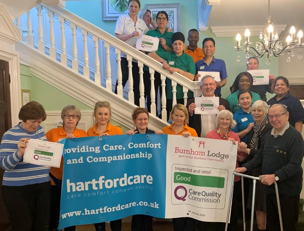 """Burnham Lodge receives """"Good"""" rating from CQC picture"""