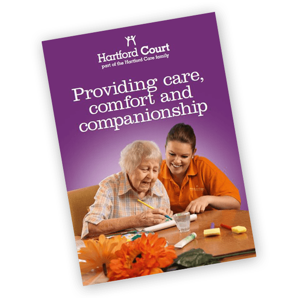 Hartford Court care home brochure