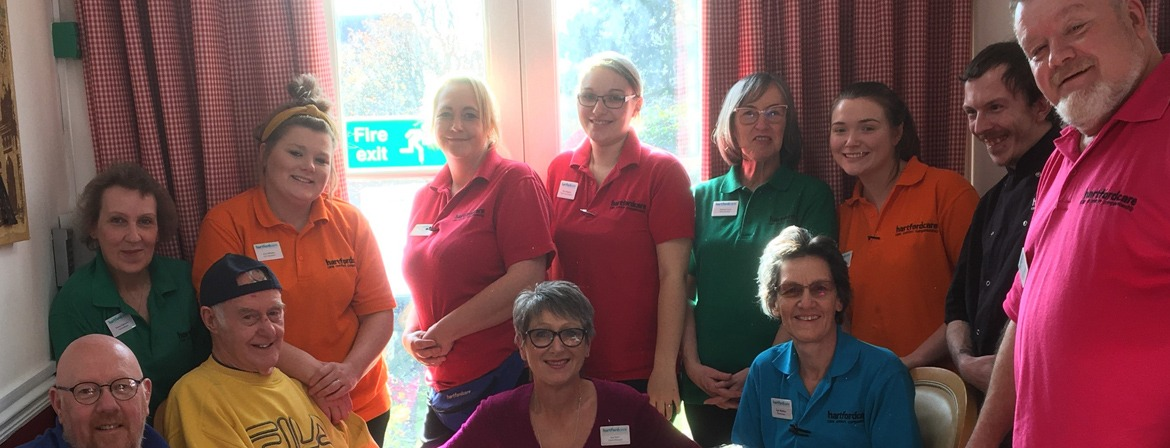 A team photo of the carers at Newland House