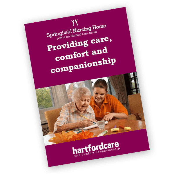 Springfield Nursing Home care home brochure
