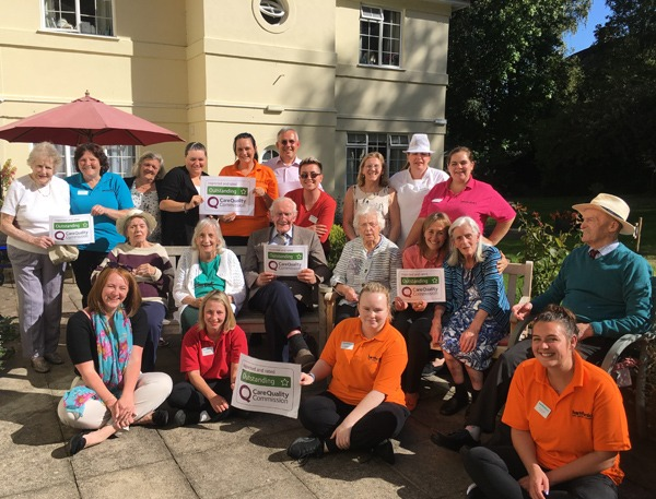Tegfield House rated 'outstanding' by CQC picture