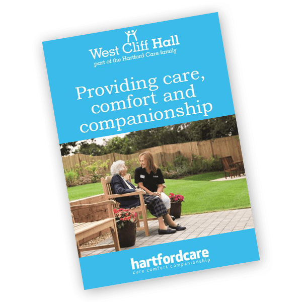 West Cliff Hall care home brochure