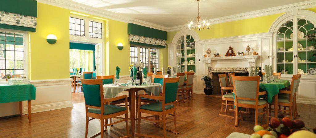 Burnham Lodge Dinning room