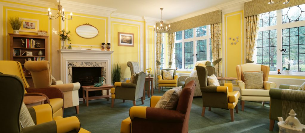 Burnham Lodge bight and airy lounge