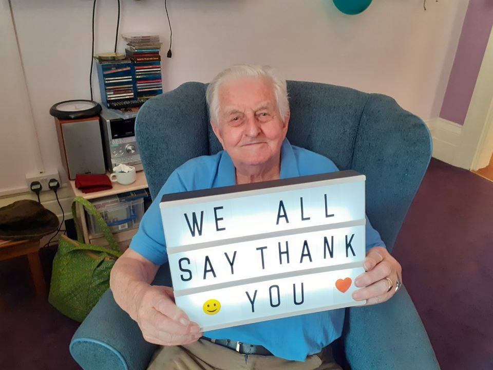 Hartford Care homes make videos to thank relatives on Family Day picture