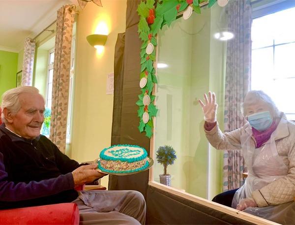 Visiting arrangements at Hartford Care homes picture