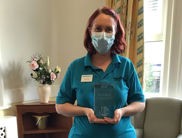 Hartford Care's Emma is a Healthcare Hero picture