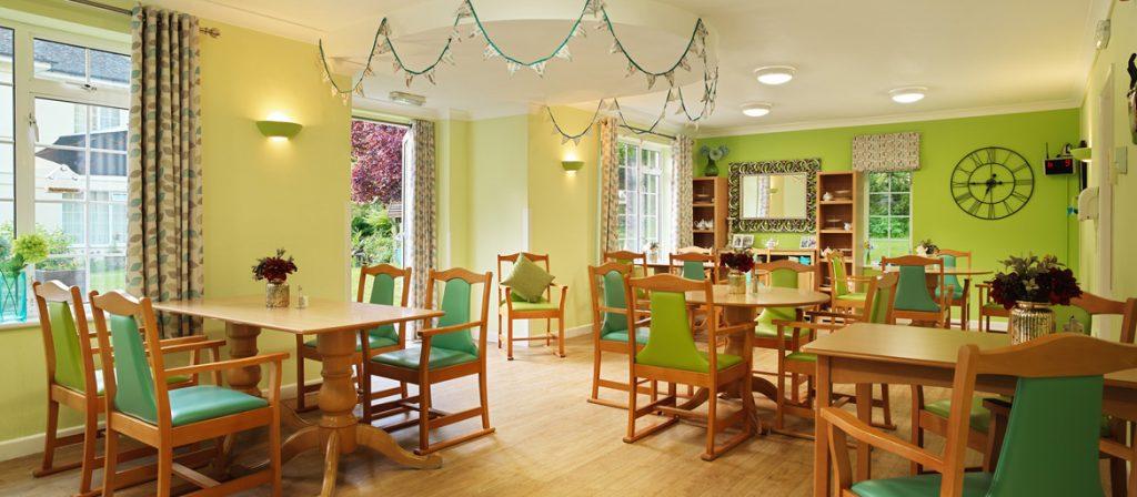 Tegfield Dinning Room